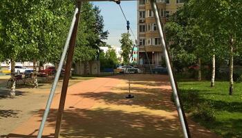 восстановить детский городок