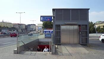 Подземный переход на Галле
