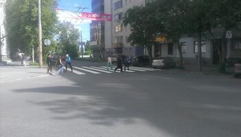 Переход к станции Динамо с улицы Ерёмина