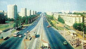 Трамвай на проспект